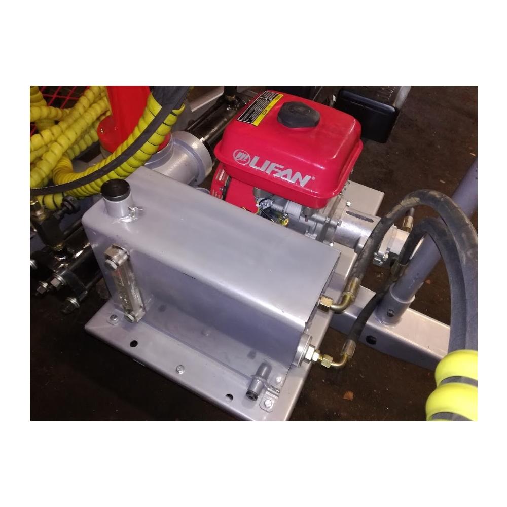 Hüdrojaam bensiinimootoriga 6,5hj 13l/min